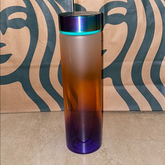 Starbucks Glass Ombré water bottle